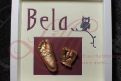 Babyfuß Babyhand 3d Gipsabdruck Hand und Fuß Neubrandenburg Burg Stargard Mecklenburg