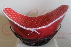 Bauchmaske belly bowl rot-weiß Rostock Burg Stargard