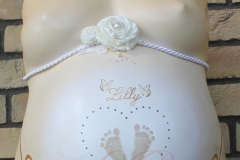Gipsabdruck-Babybauch-Premium-Babyfuss-Herz-Bauchband-Schmetterling-Farbverlauf-Lilly-ART-Burg-Stargard-Mecklenburg