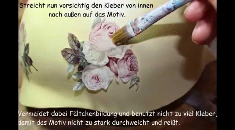 uturial-Gestaltung-Babybauch-Abdruck-mit-Serviettentechnik